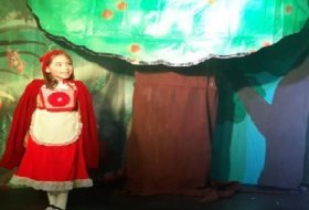 Teatro infantil: Caperucita Roja, el Lobo Feroz y El Zorrillito. El Forito. Actividades para niños. Planes para niños. Ciudad de México, DF Tlalpan